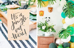 Born to be wild: Our essentials for a safari baby shower | Mum's Grapevine