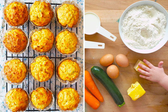 Savoury muffins for babies