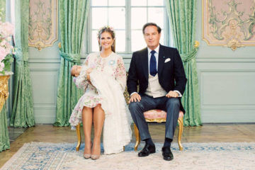 Swedish royal family christening