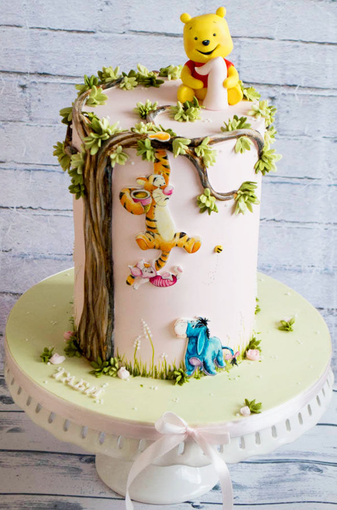 Cakespiration Winnie The Pooh Baby Shower Cakes Mums Grapevine