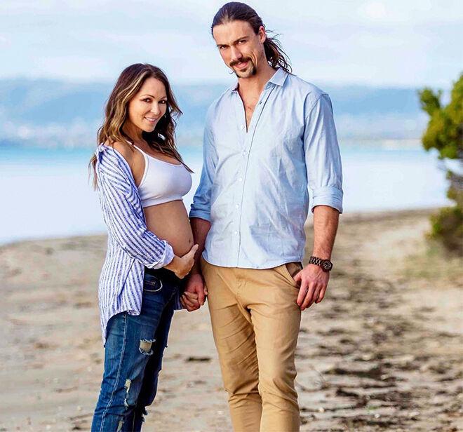 Tania Zaetta pregnant