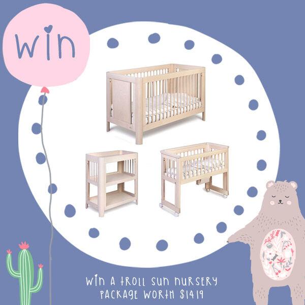 Win Troll Sun Nursery Package