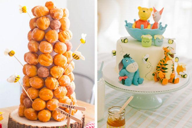 13 wonderful Winnie the Pooh baby shower cakes   Mum's Grapevine