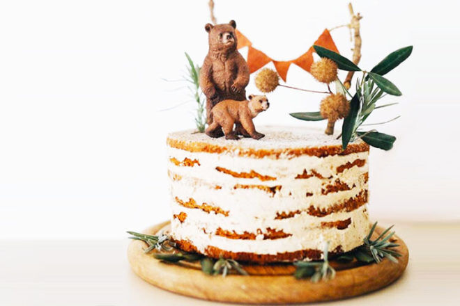 15 woodland baby shower cakes   Mum's Grapevine