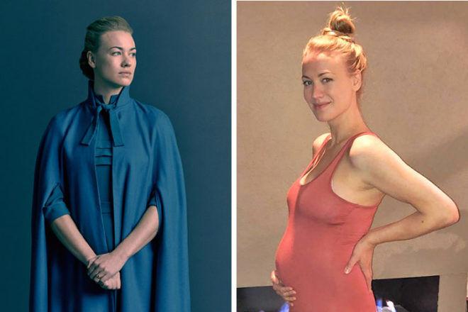 Yvonne Stahovski pregnant