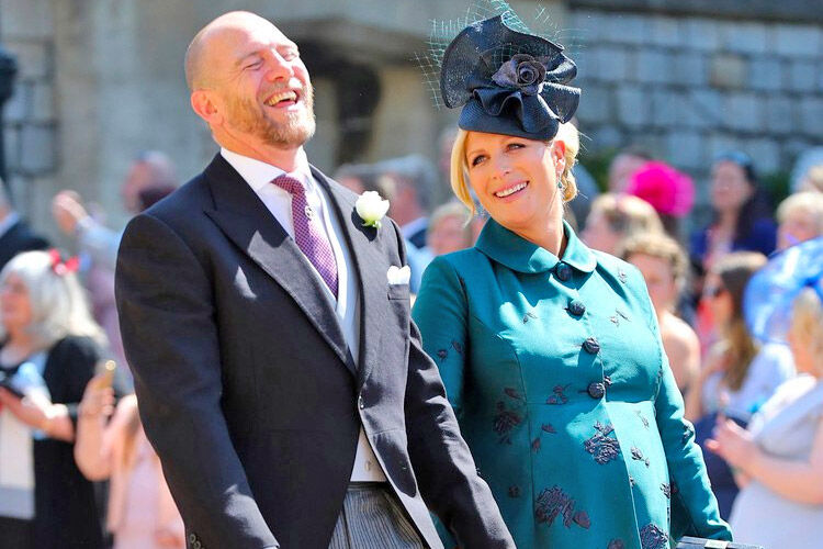 Zara Tindall welcomes baby daughter
