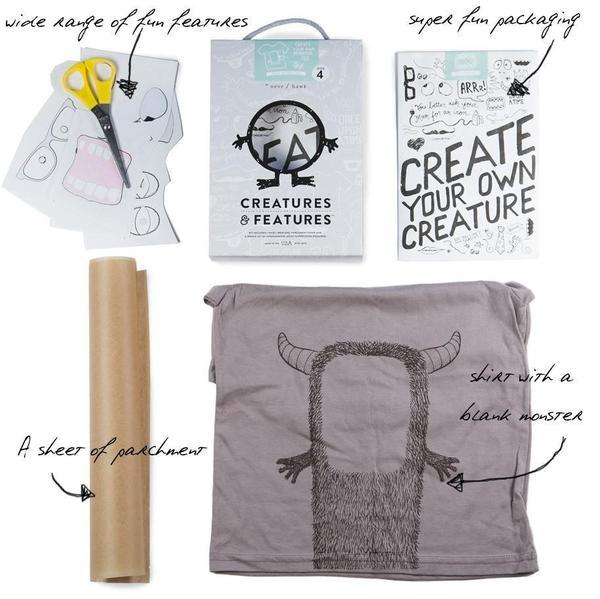Creatures & Features monster shirt