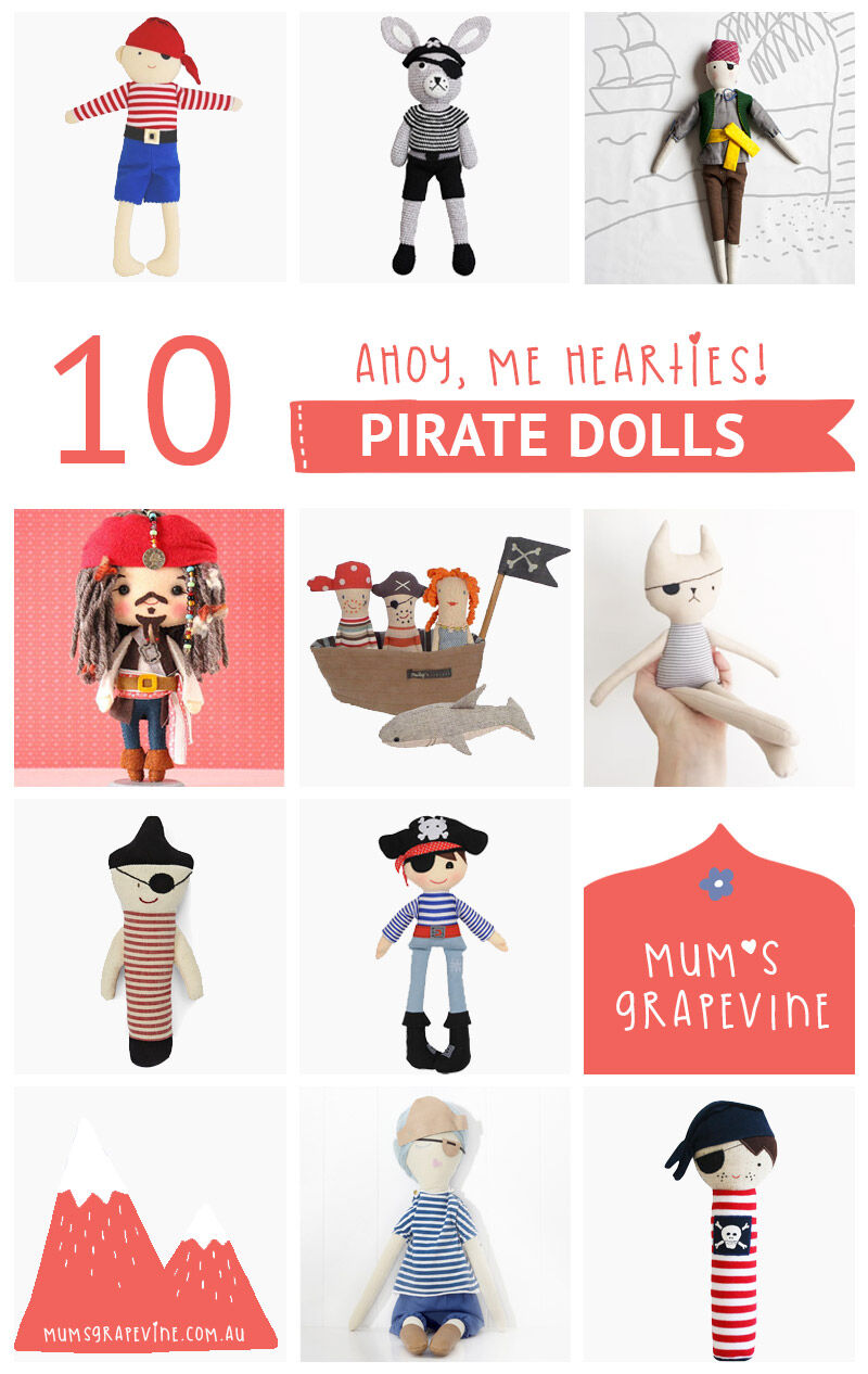 10 best pirate dolls