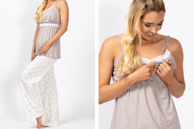 Belabumbum sleepwear Starlit Maternity Nursing Pyjamas