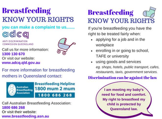 Breastfeeding cards
