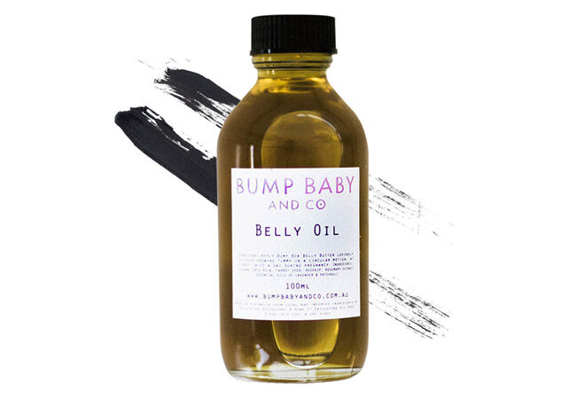 Baby bump care oil