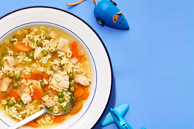 Chicken Alphabet Soup