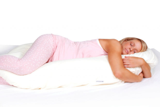CuddleUp pregnancy support pillow