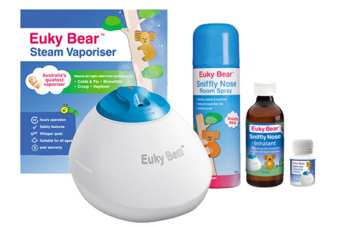 Euky Bear Steam Vaporiser