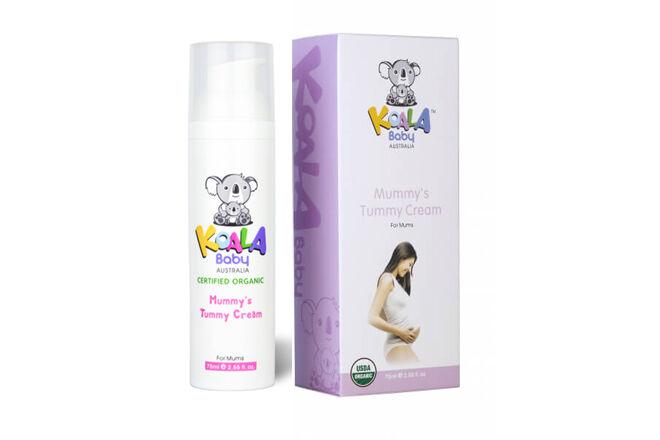 Jasmin Organic's Koala Mummy Tummy Cream