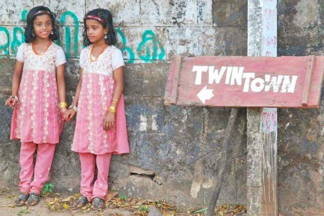 Kodinhi Indian village of twins