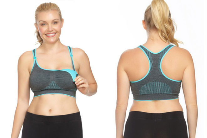 Libby Sports Nursing Bra