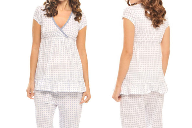 Olian Princess Maternity Sleepwear Set