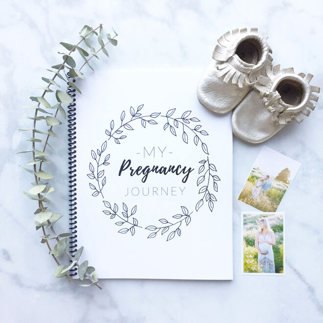 AMKDesignsShop pregnancy journal