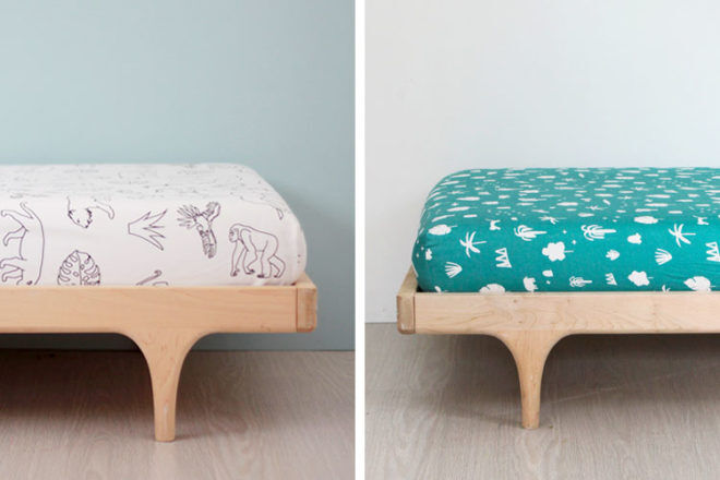 Cot sheets and bedding by Burrow & Be