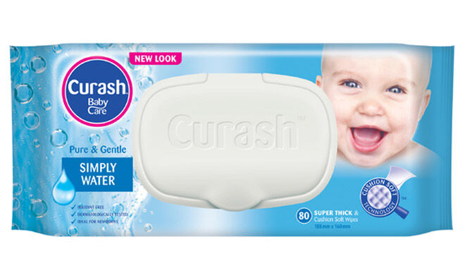 Curash Simply Water baby wipes reviews