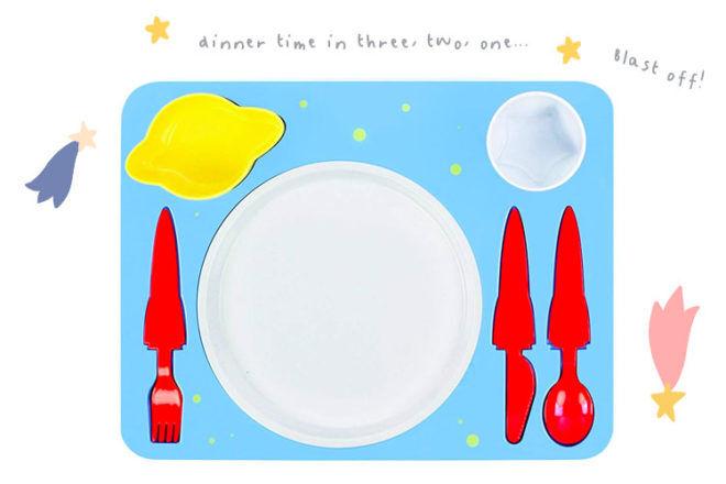DOIY space dinner set