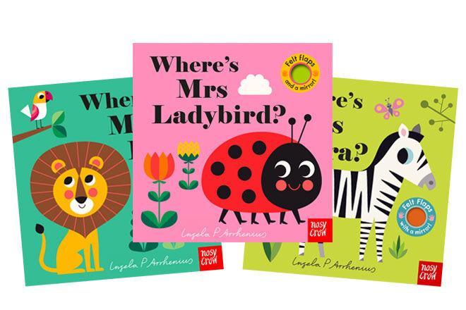Summer Holiday Accessories: Nosy Crow felt flap books