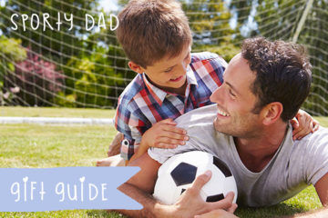 Our favourite gift ideas for sporty dads