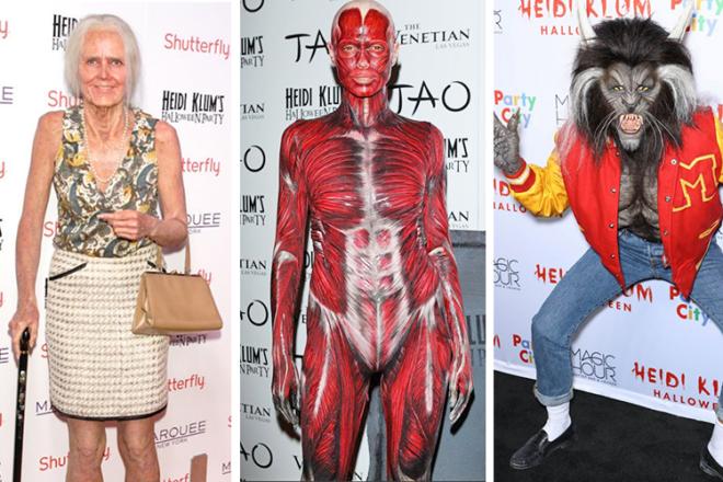 Heidi Klum Halloween outfits