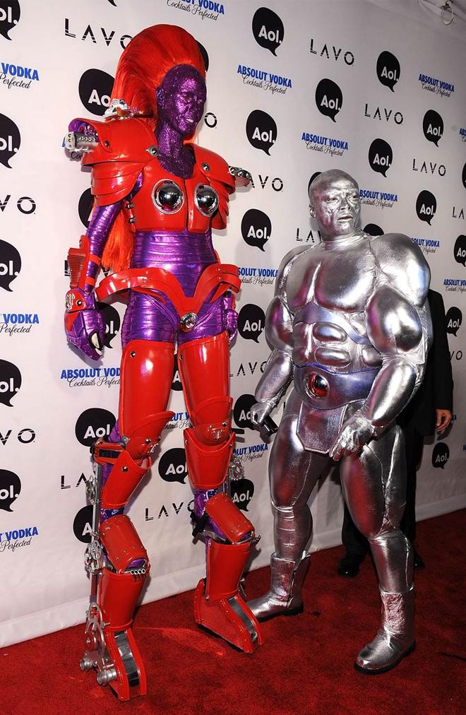 Heidi Klum futuristic costume