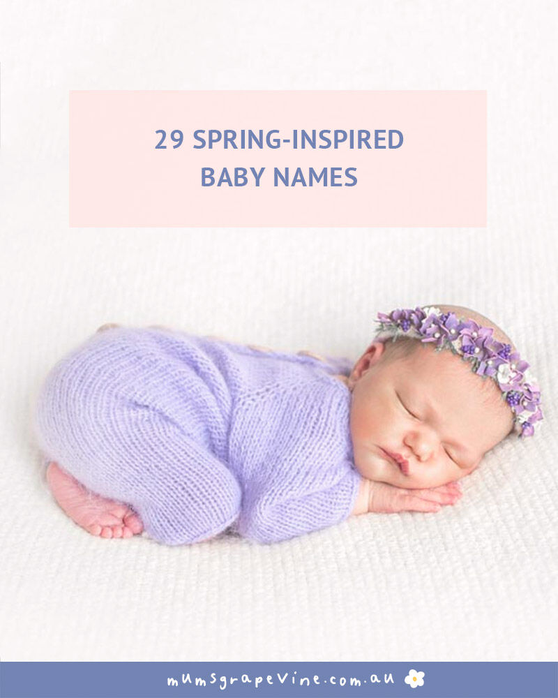 29 names for spring babies