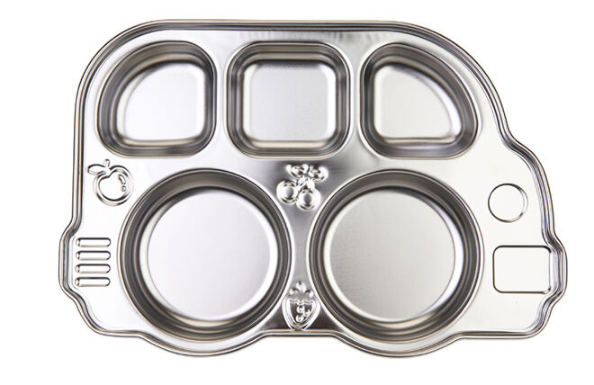 Innobaby Din Din Smart Stainless Divided Platter