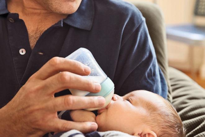 NUK breastfeeding bottle tips