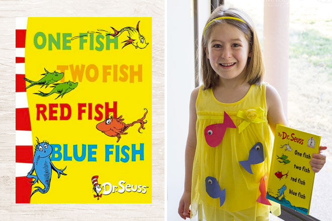 10 classic Book Week Costumes, One Fish, Two Fish Dr Seuss | Mum's Grapevine