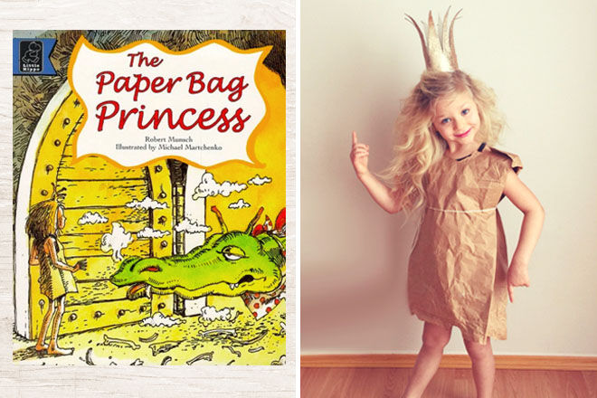 Best diy book week costume ideas 2018 mums grapevine 10 classic book week costumes the paper bag princess mums grapevine solutioingenieria Images