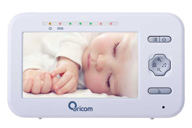 Oricom Secure850 Video baby monitor parent unit