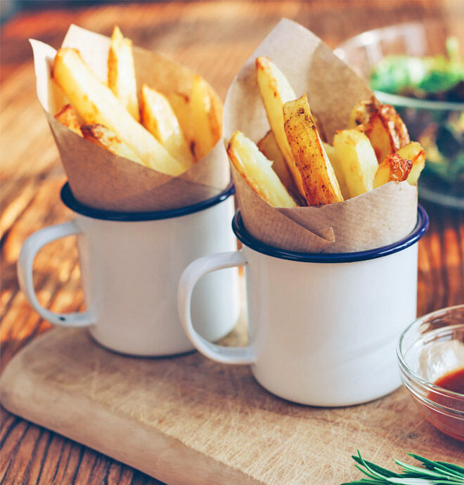 Pregnancy craving hot chips swap