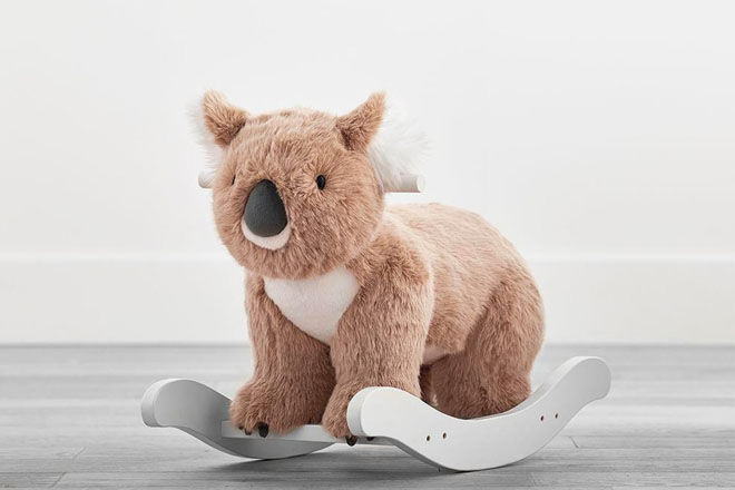 Pottery Barn Kids Koala Bear Plush Rocker