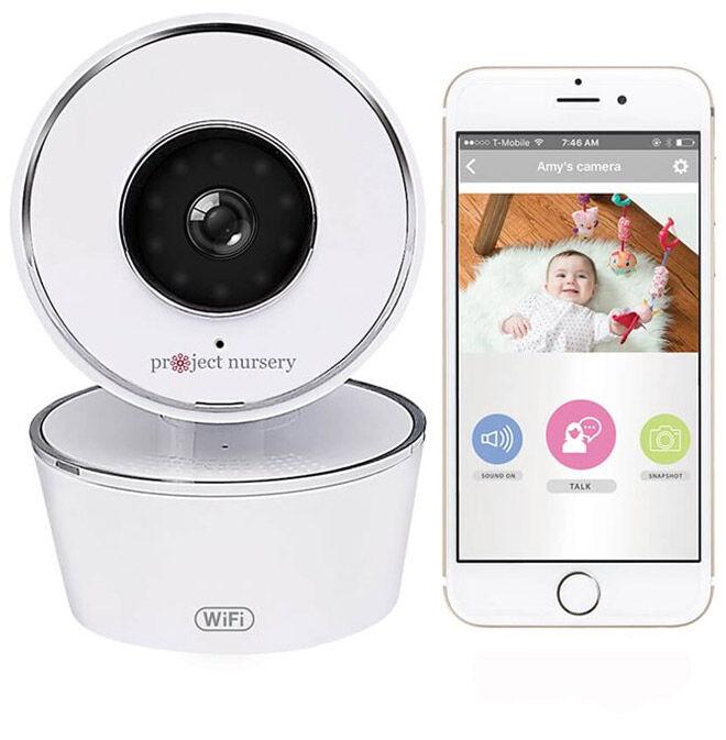 Project Nursery WiFi Baby Monitor