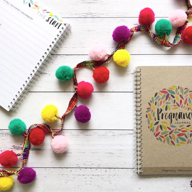 Pregnancy journal by Rhi Creative