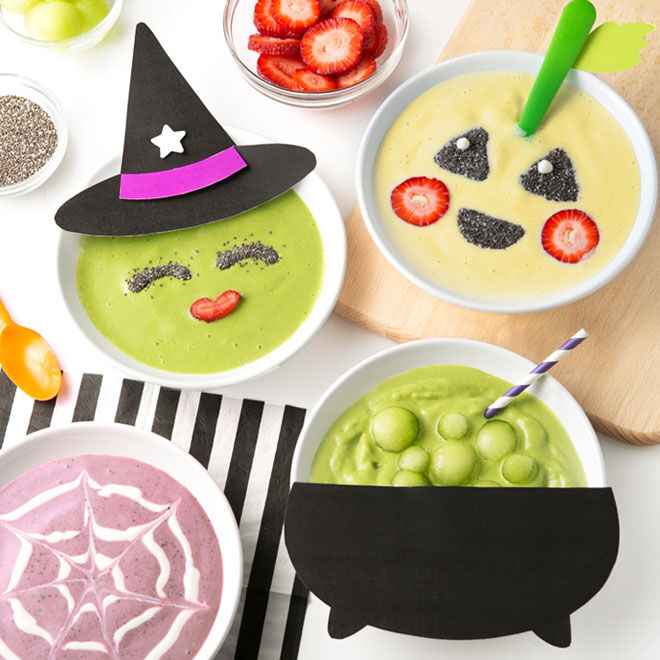 Scary smoothie bowls are a healthy alternative for Halloween