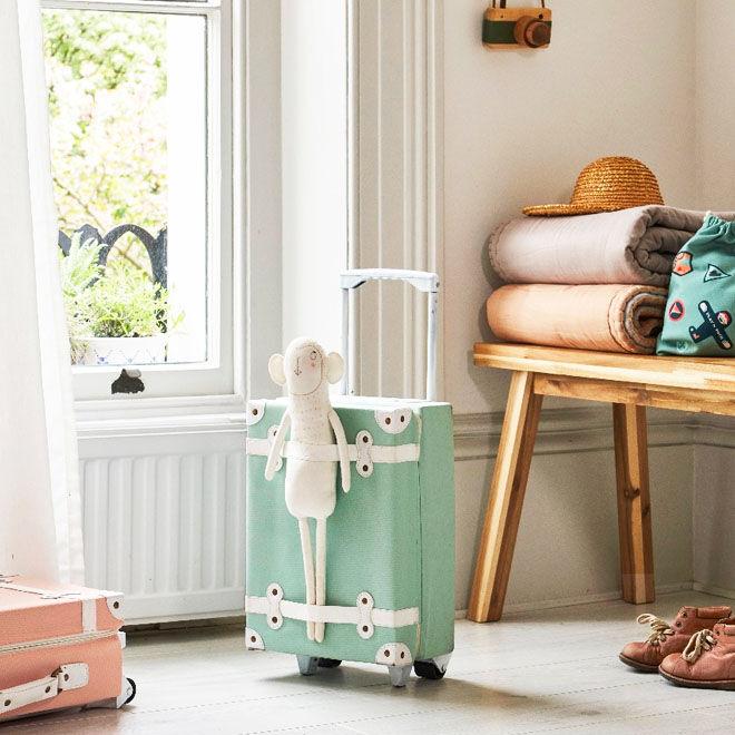 Summer Holiday Accessories: Olli Ella See Ya suitcase
