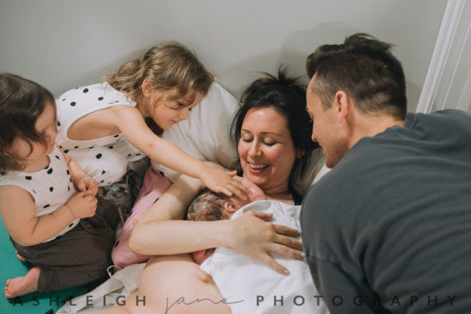 Jennifer Clanfield homebirth