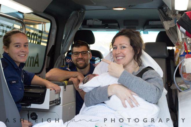Paramedics at homebirth