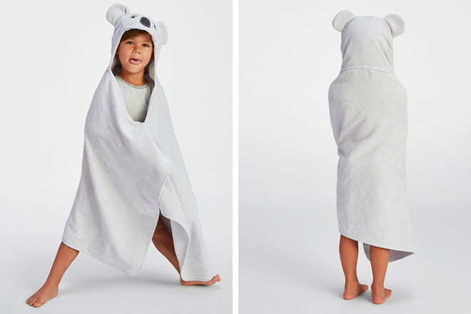 Sheridan Koala Hooded Towel