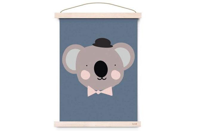 Sir Koala Print