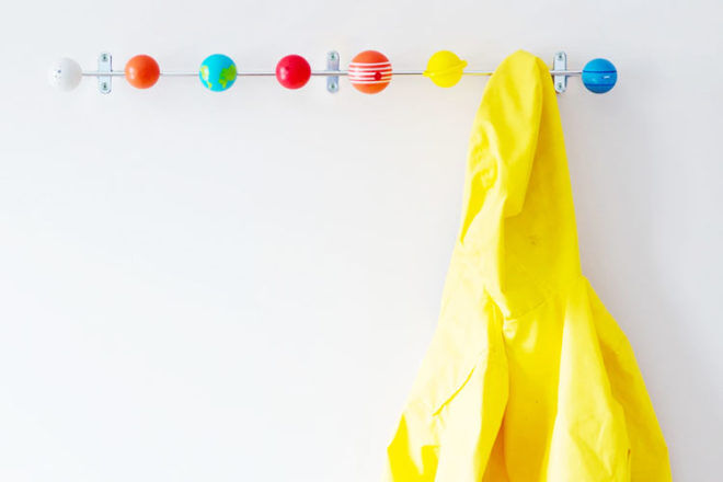 Solar system coat hooks, Suck UK