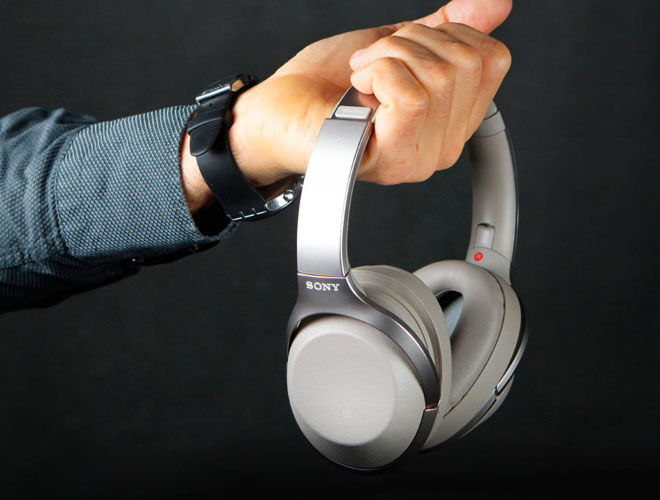 Sony 1000XM2 Wireless Noise Cancelling Over-Ear Headphones