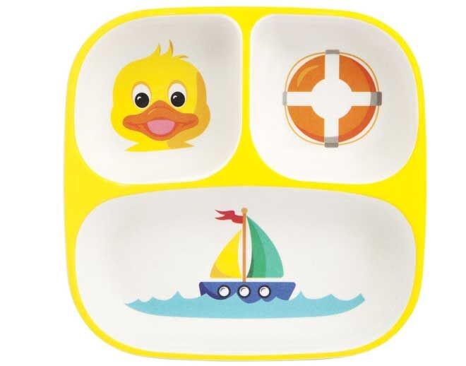Eco Kids Ducky Plate