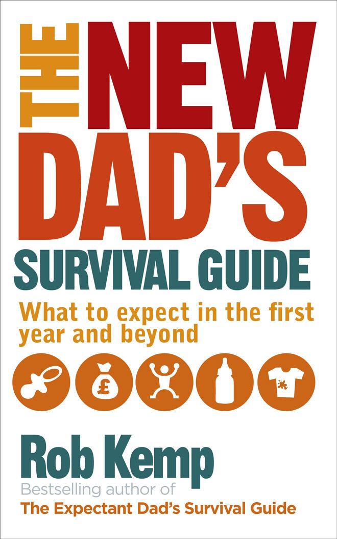 new dad book: The New Dad's Survival Guide